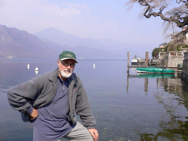 Pino on Lake Orta, looking north (2006)